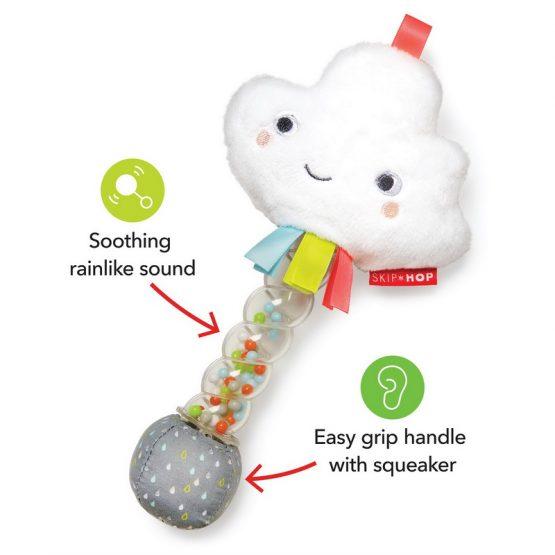 Бебешка дрънкалка Skip Hop стик, облаче