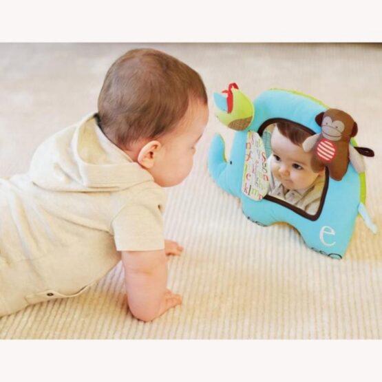 Мека играчка с огледало Skip Hop, слонче